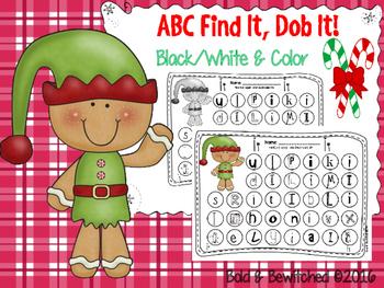 ABC Find It, Dob It Elf!