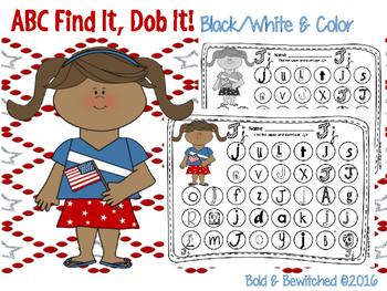 ABC Find It, Dob It Fourth!