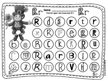 ABC Find It, Dob It Leprechaun!