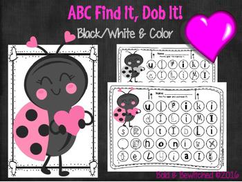 ABC Find It, Dob It Lovebug!