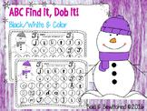 ABC Find It, Dob It Snowman!