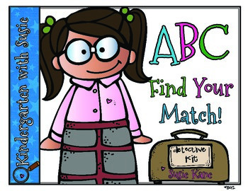 ABC Find Your Match FREEBIE