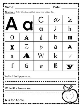 ABC Find and Write