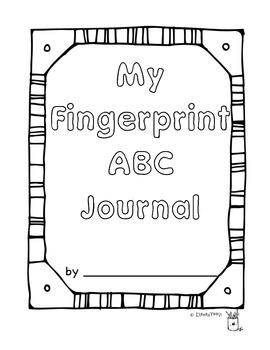ABC Fingerprint Journal