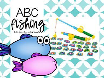 ABC Fishing -Lakeshore Recording Sheets-