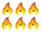 ABC Flame Letters Upper/Lower Case Set