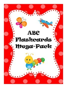 ABC Flash Card Mega Pack
