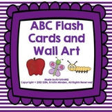 ABC Flash Cards and Wall Art