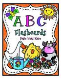 Kindergarten ABC Flashcards