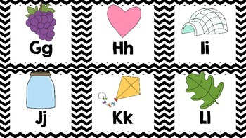 ABC Flashcards Chevron