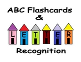 ABC Letter Recognition with Worksheets