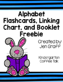 ABC Flashcards, Linking Chart, and Booklet Freebie