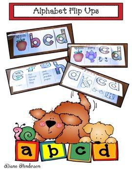 Alphabet Flip Booklets
