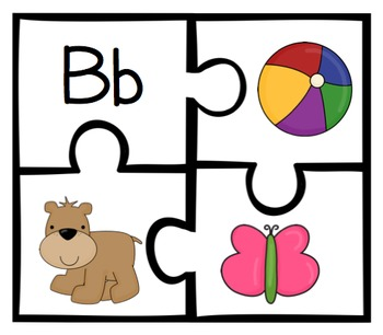 ABC Floor Puzzle [Alphabetic Principle and Phonemic Awareness]
