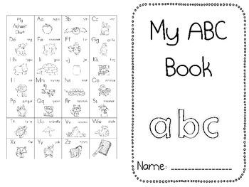 ABC Fluency Book - FREE