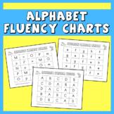 Alphabet Fluency Charts