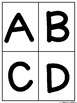 ABC Fluency Flash Cards for Upper Case Capital Letters