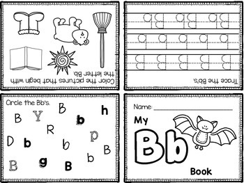 ABC Foldable Booklets