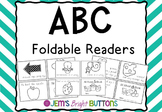 ABC Foldable Readers - one page readers - Victorian Modern Cursive
