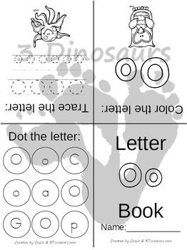 ABC Folding Books: Dot Color & Trace