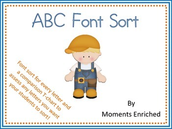 ABC Font Sort