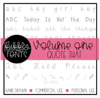 ABC Fonts Endless Bundle