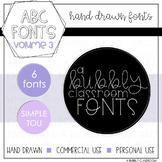 ABC Fonts Volume Three