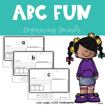 ABC Fun: Beginning Sounds Pack