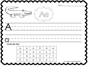 ABC Fun: Letter Writing