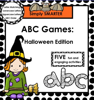 ABC GAMES:  Halloween Edition