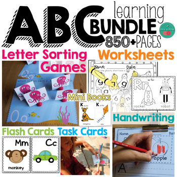 Letter Learning Packet