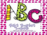 ABC Gift Basket Labels {A Unique Gift Idea}