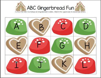 ABC Gingerbread Fun