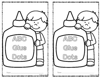 ABC Glue Dots-A Student Book