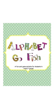 ABC Go Fish Card Game