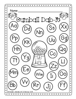 ABC Gumball Dab