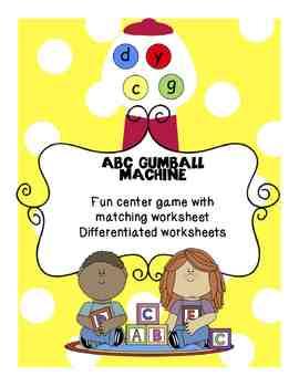 ABC Gumball Machine
