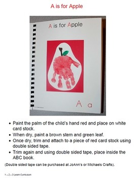 ABC Handprint Book