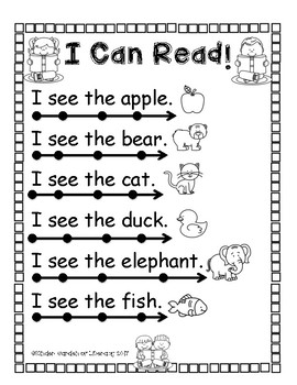I Can Read With Dots And Lines