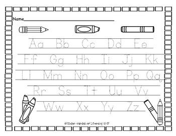 ABC Handwriting