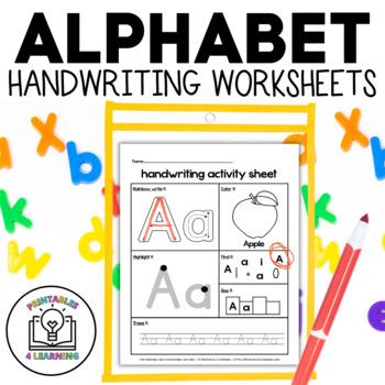 ABC Handwriting Sheets