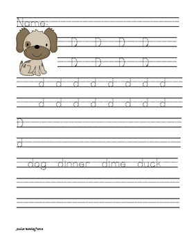 ABC Handwriting Alphabet
