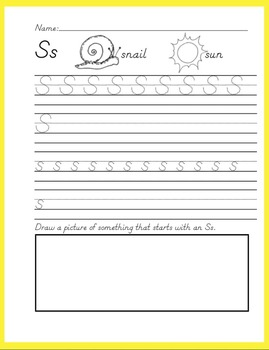 ABC Handwriting Book/Morning Worksheets Set 2 {D'Nealian}