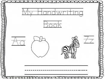 ABC Handwriting Booklet