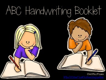 ABC Handwriting Booklet