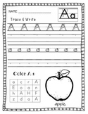 ABC Handwriting Pages A-Z