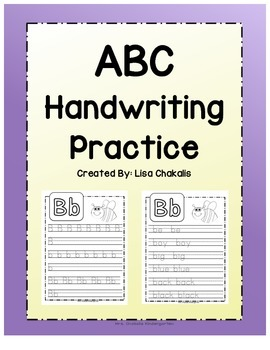 Handwriting Practice Book