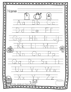 ABC Handwriting Through the Year