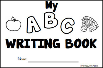 My ABC Writing Booklet - ABC Handwriting and Coloring Booklet