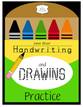 ABC Handwriting and Drawing Practice Zaner Bloser